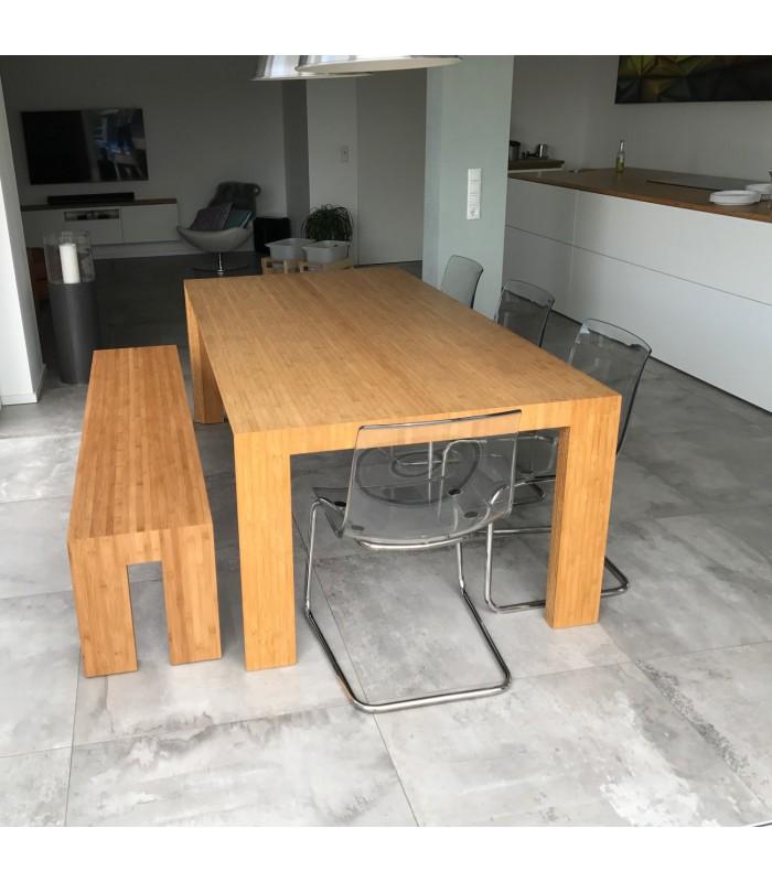 Bank Aan Eettafel.Arc Dining Table Bench Bloooms