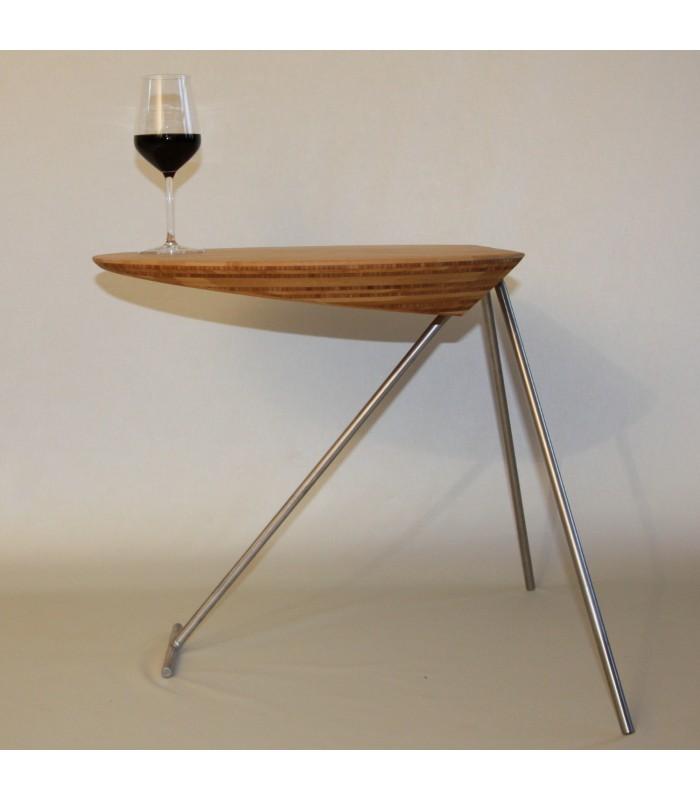 Bijzettafeltje gemaakt van Bamboe, ontworpen door Paul