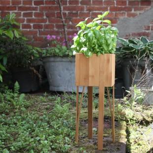 Bloooms planten pot 15 x 15 Caramel
