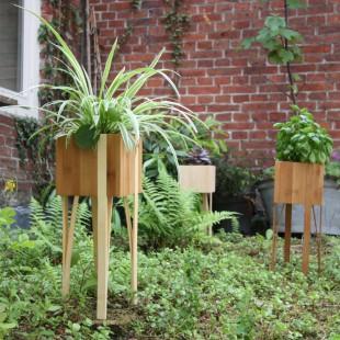 Bloooms planten pot duotone 15 x 15