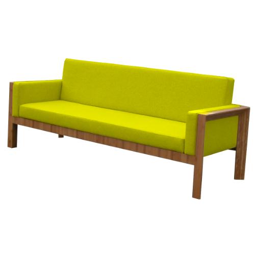 Geel Groen vilt